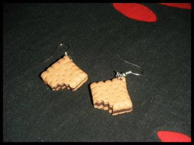 ° Boucles Biscuit Croqué °