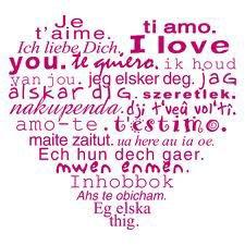 Je T'aime ♥♥♥