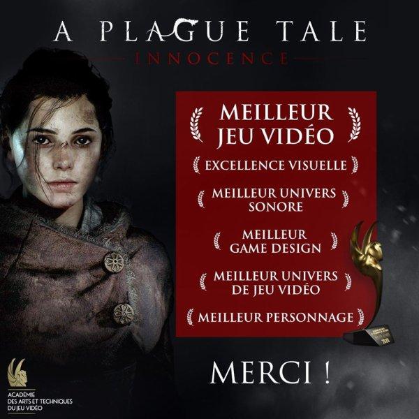 Prix aux Pégases Académie des Arts et Techniques du Jeu Vidéo