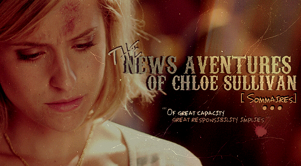 Smallville; The New Aventures Of Chloe Sullivan