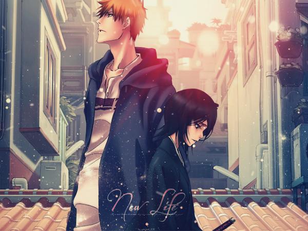Ichigo et Rukia