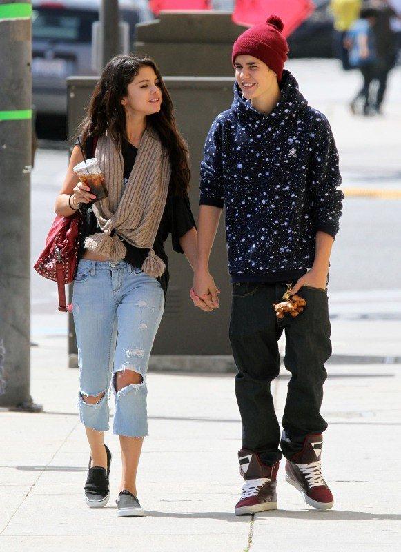 Justin Biber et Selena Gomez