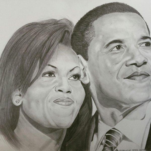 michelle et barak Obama