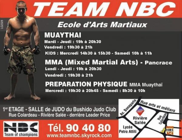 HORAIRES & LIEUX D'ENTRAINEMENT & CONTACTS : Muaythaï, MMA Pancrace, Préparation Physique
