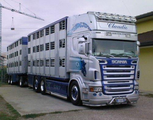 Un Scania belge De Cher Claidio