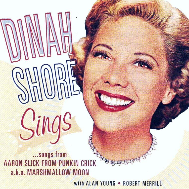 """Dinah SHORE (née Frances Rose SHORE 29 février, 1916 - 24 février, 1994) est une chanteuse, actrice et personnalité de la télévision américaine. Elle fut très populaire sous l'ère du """"Big Band"""" dans les années 1940 et 1950."""