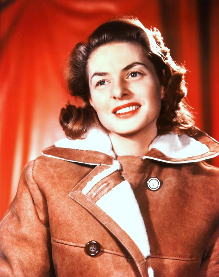 Ingrid BERGMAN pictures (part 2).