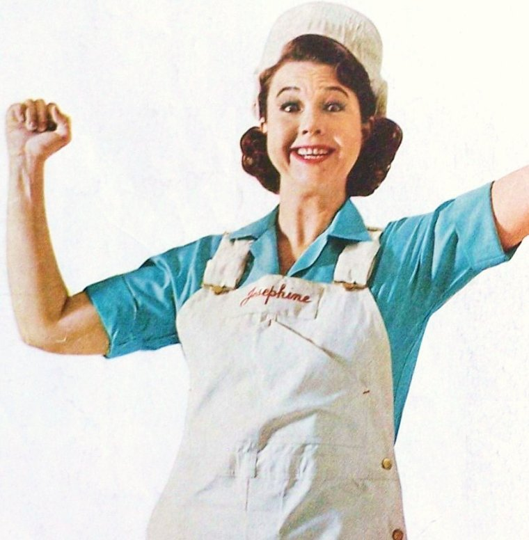 """Jane WITHERS est une actrice américaine née le 12 avril 1926 à Atlanta (Géorgie). Elle est surtout connue pour avoir été une des enfants-stars les plus célèbres des années 1930 et du début des années 1940, ainsi que pour avoir joué """"Joséphine le plombier"""" dans une série de publicités TV pour la poudre à récurer """"Comet"""", durant les années 1960 et 1970."""