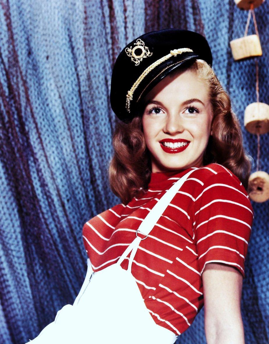 YOUNG... Norma Jeane DOUGHERTY as Marilyn MONROE
