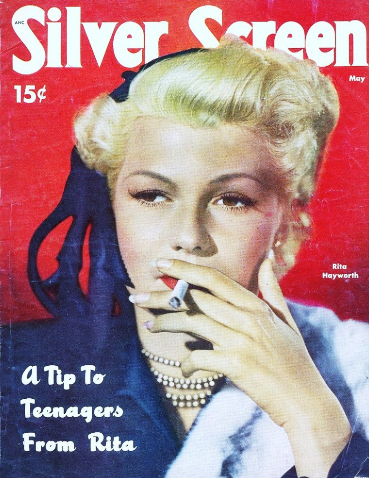 Rita HAYWORTH's covers...