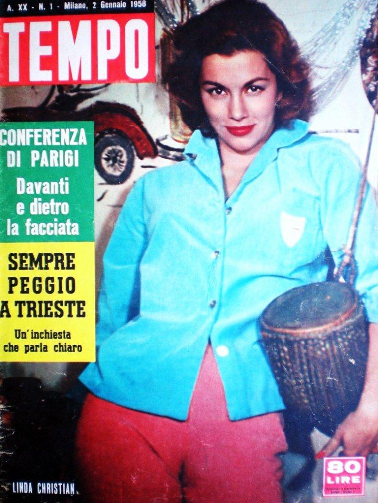 Linda CHRISTIAN (Blanca Rosa WELTER) est une actrice d'origine mexicaine, née le 13 novembre 1923 à Tampico (Mexique) et morte le 22 juillet 2011 à Palm Springs (Californie).
