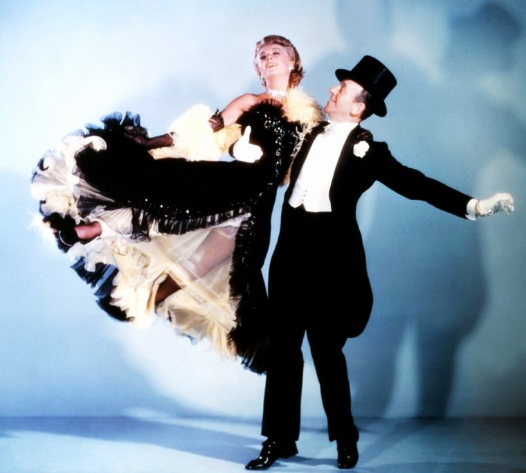 MYTHIQUE Ginger (ROGERS) et Fred (ASTAIRE)...