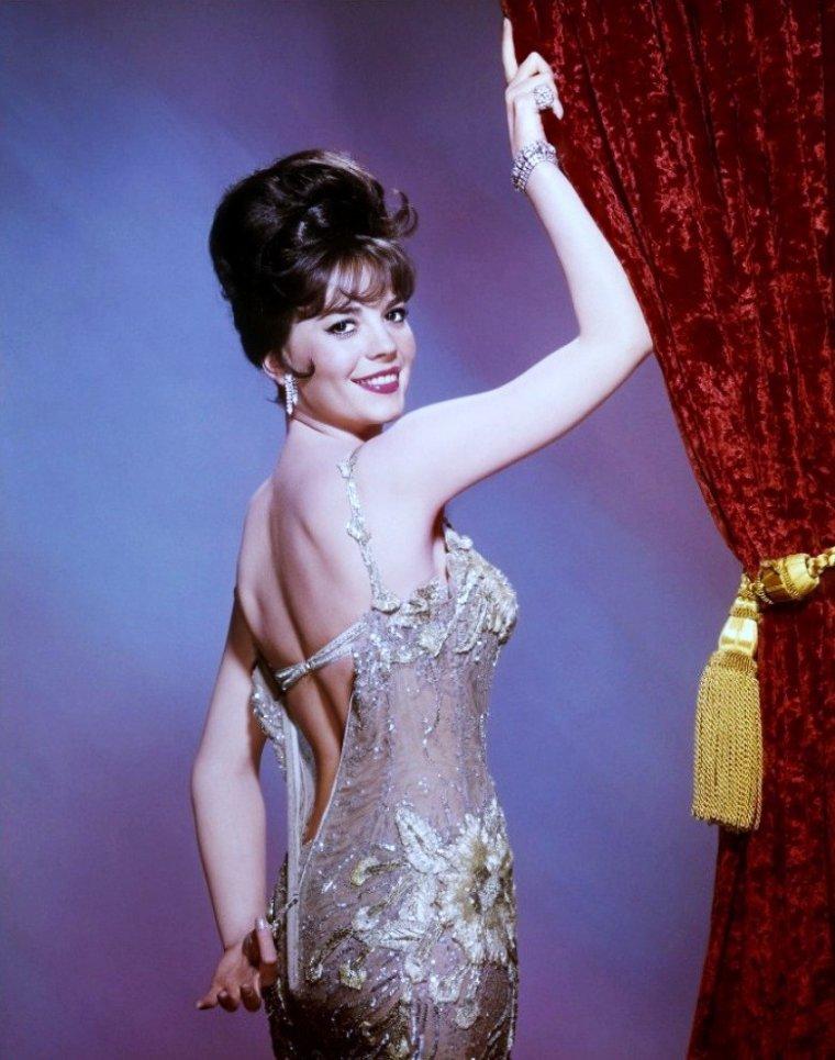 "Natalie WOOD est ""Gypsy"" dans le film du même nom, en 1962."