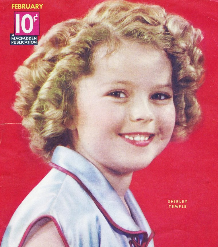 Shirley TEMPLE's covers (and pub).