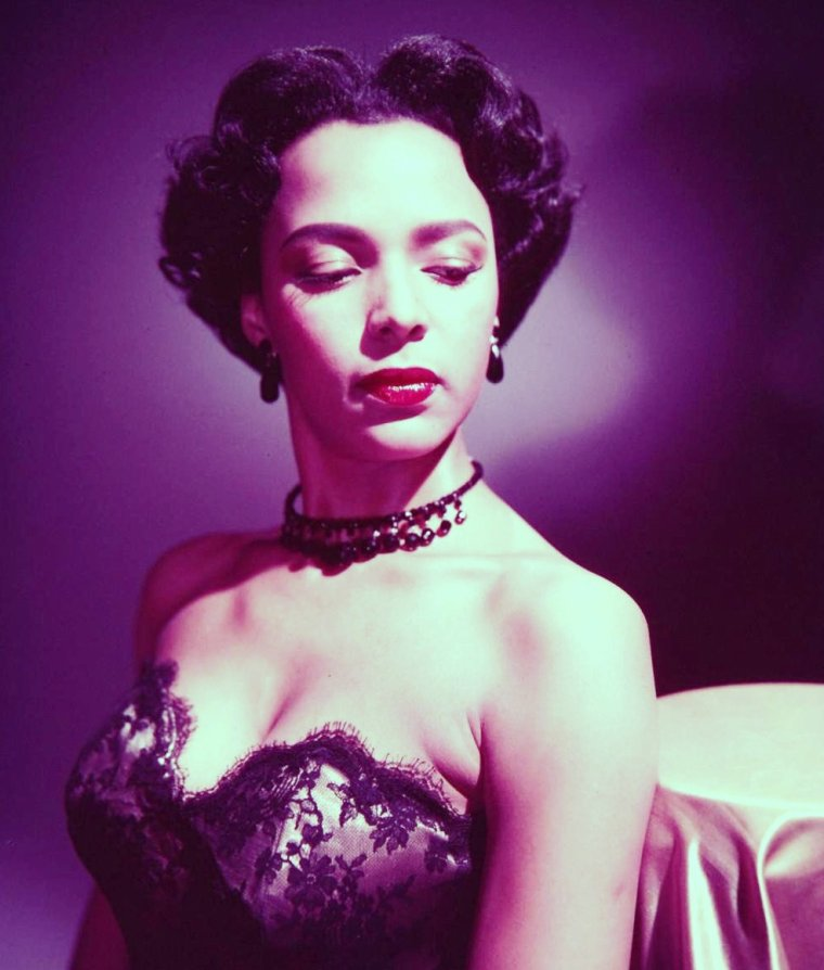1951 / Dorothy DANDRIDGE by Edward CLARK