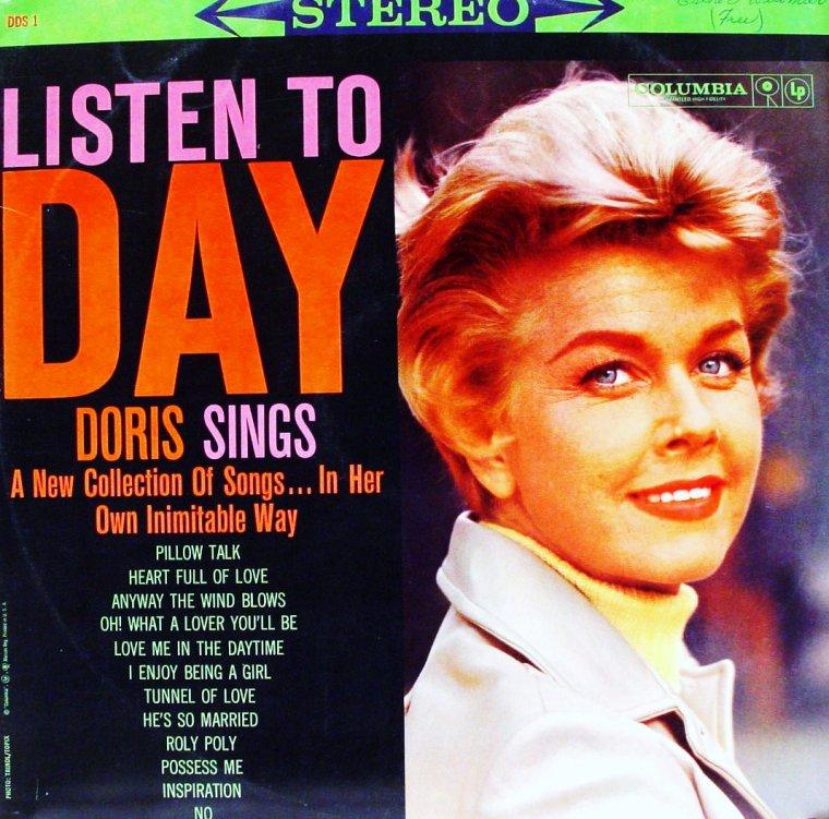Quand Doris DAY chante... (pochettes originales d'albums).
