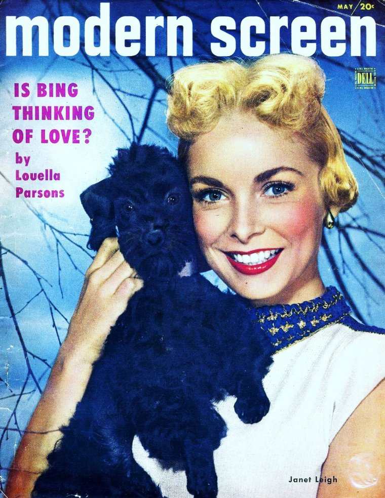 Janet LEIGH's covers...