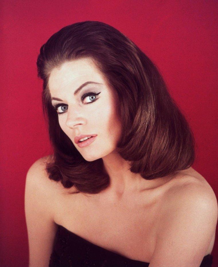 Quand la belle blonde Anita EKBERG devient brune pour les besoins de divers rôles dans les années 64-65...