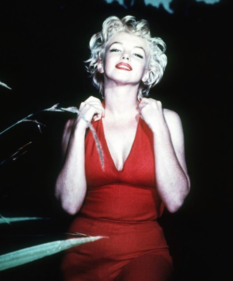 Eté 1954, Marilyn pose pour Ted BARON...