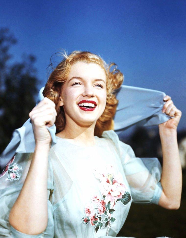 Petit retour dans les années 40, avec de haut en bas : Lana TURNER / Joan CRAWFORD / Betty GRABLE / Lauren BACALL / Marilyn MONROE / Veronica LAKE / Rita HAYWORTH / Linda DARNELL