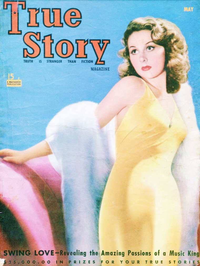 Covers de STARS... (de haut en bas) Gloria HALE / Ann SOTHERN / Ann BLYTH / Maureen O'HARA / Peggy O'CONNOR / Shelley WINTERS / Rita HAYWORTH / Susan HAYWARD