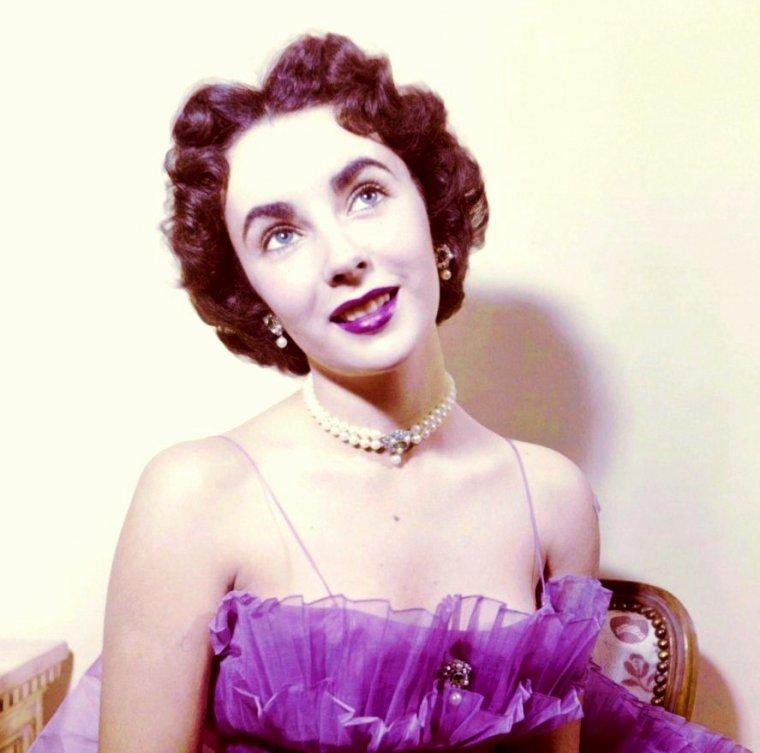 Rare Elizabeth TAYLOR 50's