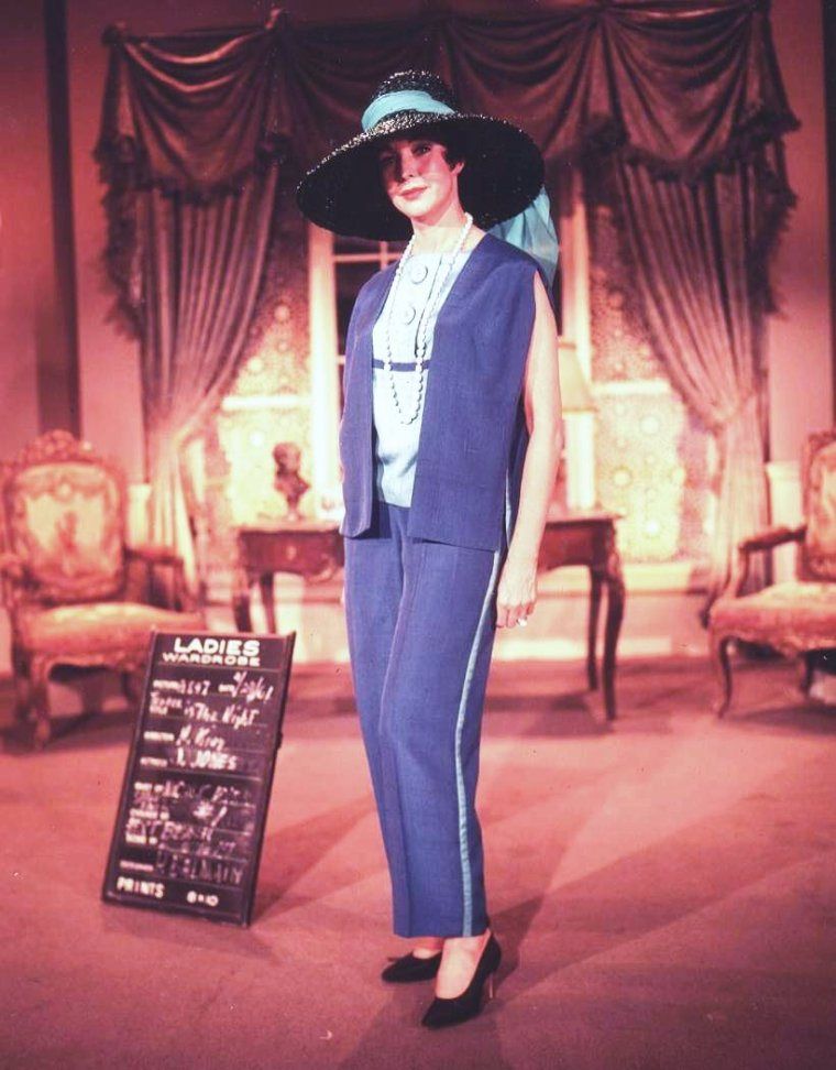 "1962 / Essais costumes signés BALMAIN pour Jennifer JONES en vue du tournage ""Tender is the night""..."