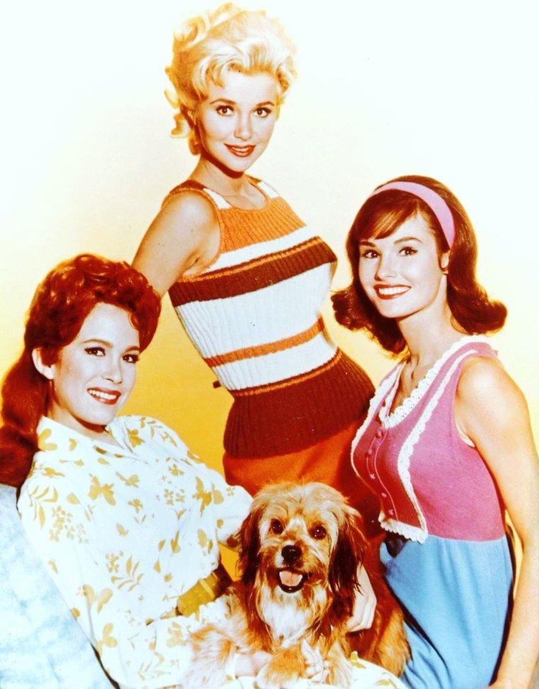 """SERIE CULTE oubliée / """"Petticoat junction"""" est une série Américaine diffusée sur C.B.S. à partir de 1963 jusqu'en 1970, comportant 7 saisons soit 222 épisodes, réunissant Linda KAYE HENNING, Gunilla HUTTON, Pat WOODELL, June LOCKHEART, Bea BENADERET, Lori SAUNDERS ou encore Jeannine RILEY, pour les rôles féminins..."""