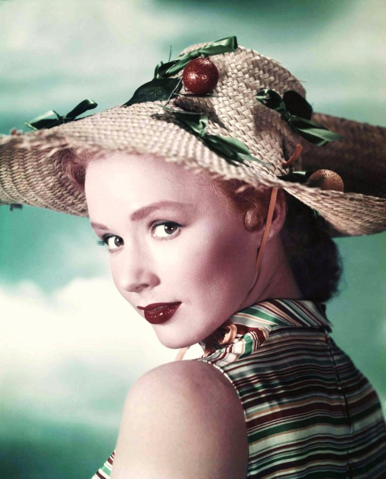 Portrait... Piper LAURIE 50's