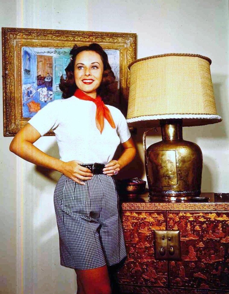 Portrait... Paulette GODDARD