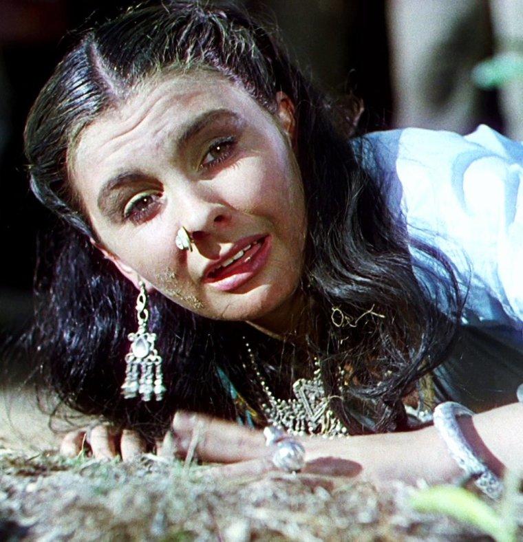 """1947 / Oscar de la meilleure photographie à Jack CARDIFF, pour le magnifique film """"Le narcisse noir"""" (Black narcissus) réalisé par Michaël POWELL et Emeric PRESSBURGER, réunissant Deborah KERR, Jean SIMMONS ou encore Kathleen BYRON, film en technicolor / SYNOPSIS / Cinq s½urs anglicanes sont envoyées dans le palais himalayen de Mopu, cadeau d'un général indien, pour y établir un couvent, un dispensaire et une école. Ancien harem du général, situé sur un rocher venteux et escarpé, le palais trouble l'esprit des nonnes."""