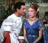 """1951 / FILM CULTE : """"Quo Vadis"""" film américain de Mervyn LeROY, adaptation du roman d'Henryk SIENKIEWICZ """"Quo vadis ?"""" (1895-96) qui avait valu à son auteur un Prix Nobel de littérature en 1905 / SYNOPSIS / Cette ½uvre, longue de près de trois heures, décrit l'émergence de la chrétienté à Rome sous Néron, à travers une histoire d'amour entre un officier romain, Vinicius, neveu du mécène épicurien Pétrone, et Lygie, une jeune otage chrétienne, fille adoptive d'un général retraité, qu'il prendra comme épouse après avoir échappé au massacre des chrétiens dans les arènes impériales. Film réunissant entre autres, Deborah KERR, Patricia LAFFAN ou encore Marina BERTI pour les actrices, Robert TAYLOR, Peter USTINOV ou Leo GENN pour les acteurs."""