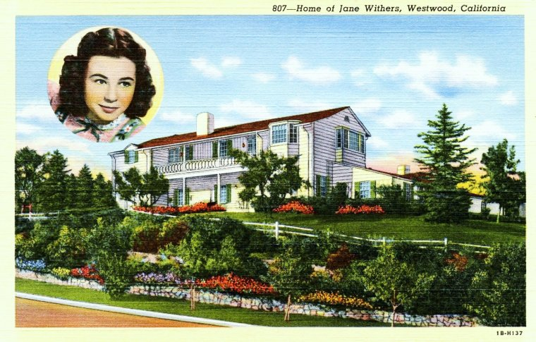 Toutes STARS se doit d'avoir une belle demeure dans les plus beaux quartiers d'Hollywood... Bel-Air, Beverly-Hills, Westwood...