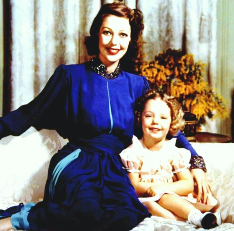CITATION / « Un ami ne peut prendre la place d'une mère. J'ai besoin de ma mère comme d'un exemple à suivre. » de Anne FRANK (de haut en bas) June ALLYSON (with her husband Dick POWELL) / Jane FONDA (and her husband Roger VADIM, 1967) / Ingrid BERGMAN / Joan FONTAINE / Loretta YOUNG / Janet LEIGH (with her husband Tony CURTIS) / Katharine HEPBURN (1968) / Joan CRAWFORD