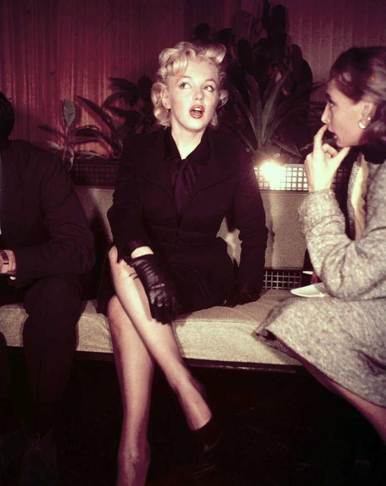 INTERVIEW / Marilyn MONROE (1956)