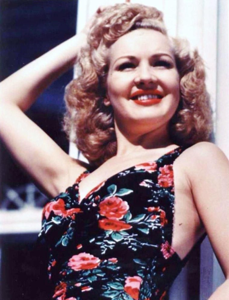 Portrait... Betty GRABLE