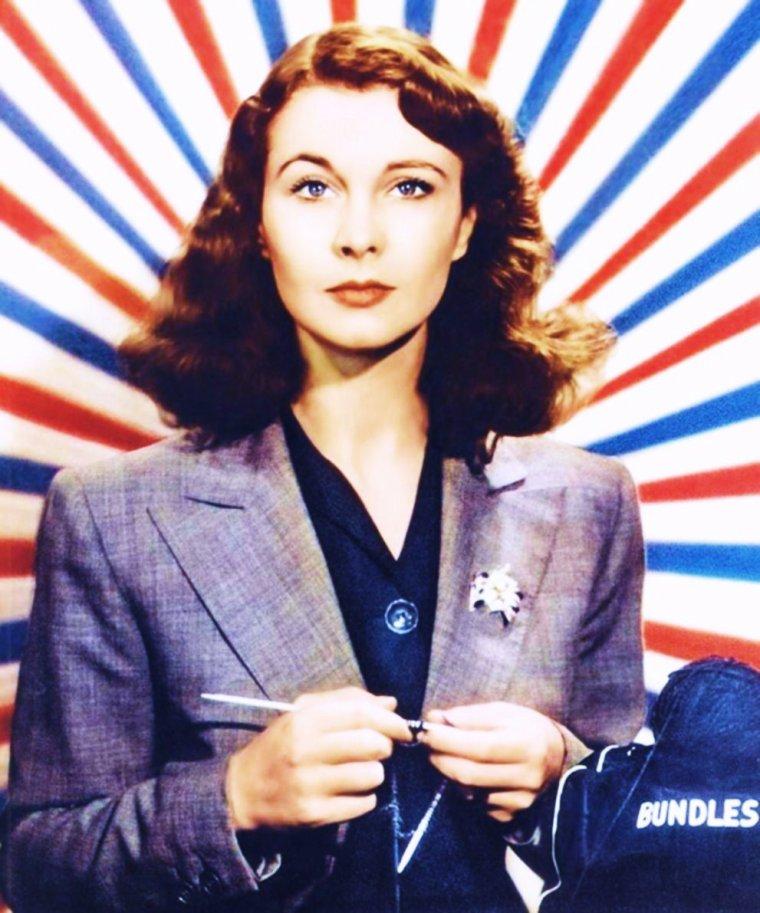 LES RARES de l'inoubliable Scarlett O'HARA as Vivien LEIGH... (photos de 1939 à 1966).