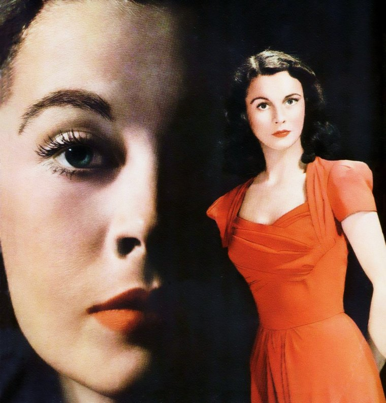 LES RARES de l'inoubliable Scarlett O'HARA as Vivien LEIGH... (photos de 1939 à 1966).