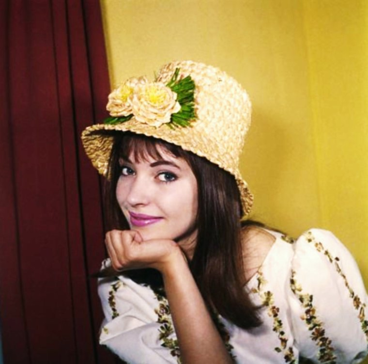 Beautiful Anna KARINA by Sam LEVIN 60's