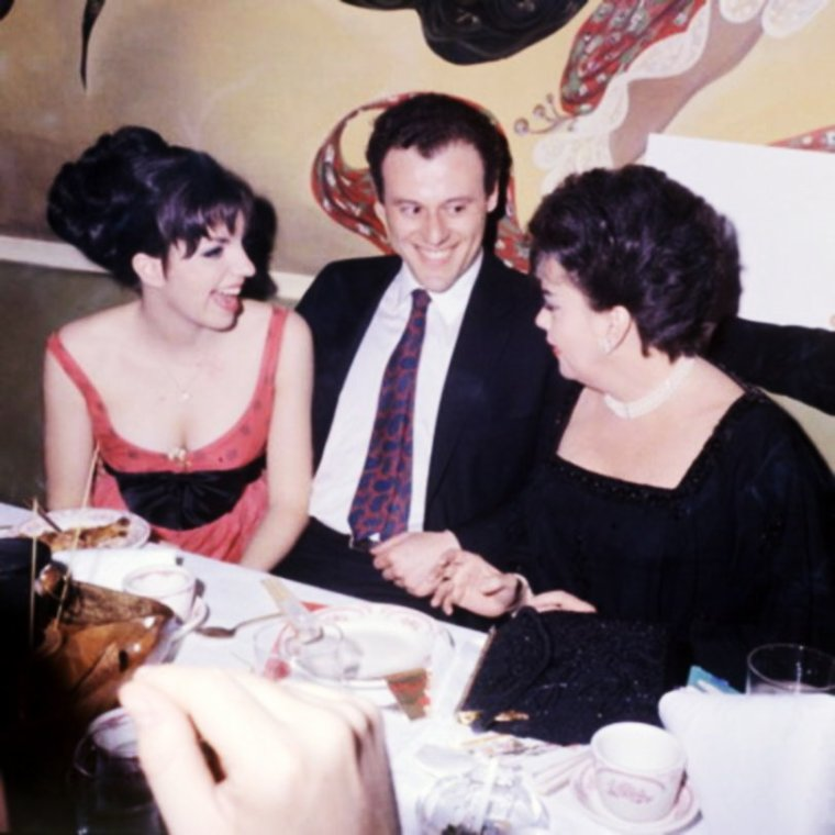 MONDANITES / Ou nos STARS lors de divers galas... (de haut en bas) Liza MINNELLI and her mother Judy GARLAND / Marilyn MONROE and her husband Arthur MILLER / Juliet PROWSE and Frank SINATRA / Sandra DEE and her husband Bobby DARIN / Shelley WINTERS / Katy JURADO / Sophia LOREN / Véronique PASSANI and her husband Gregory PECK
