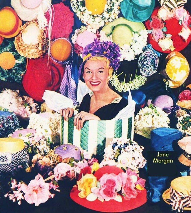 """LES INSOLITES DU BLOG (part 2) / """"Il n'est pas d'art vrai sans une forte dose de banalité. Celui qui use de l'insolite d'une manière constante lasse vite, rien n'étant plus insupportable que l'uniformité de l'exceptionnel"""".    Emil Michel CIORAN  (de haut en bas) Annette FUNICELLO / Sophia LOREN / Barbara FELDON / Deanna DURBIN / Jayne MANSFIELD / Gene TIERNEY / Marilyn / Jane MORGAN"""