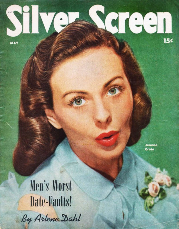 Jeanne CRAIN's COVERS (rare)