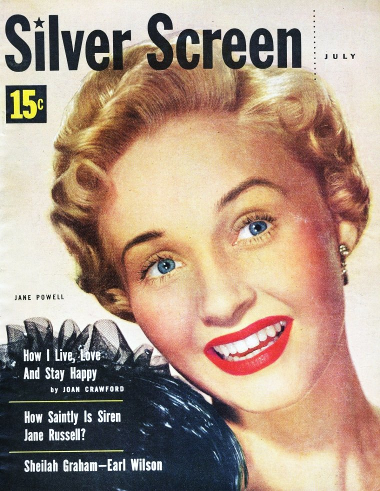 Jane POWELL's covers...