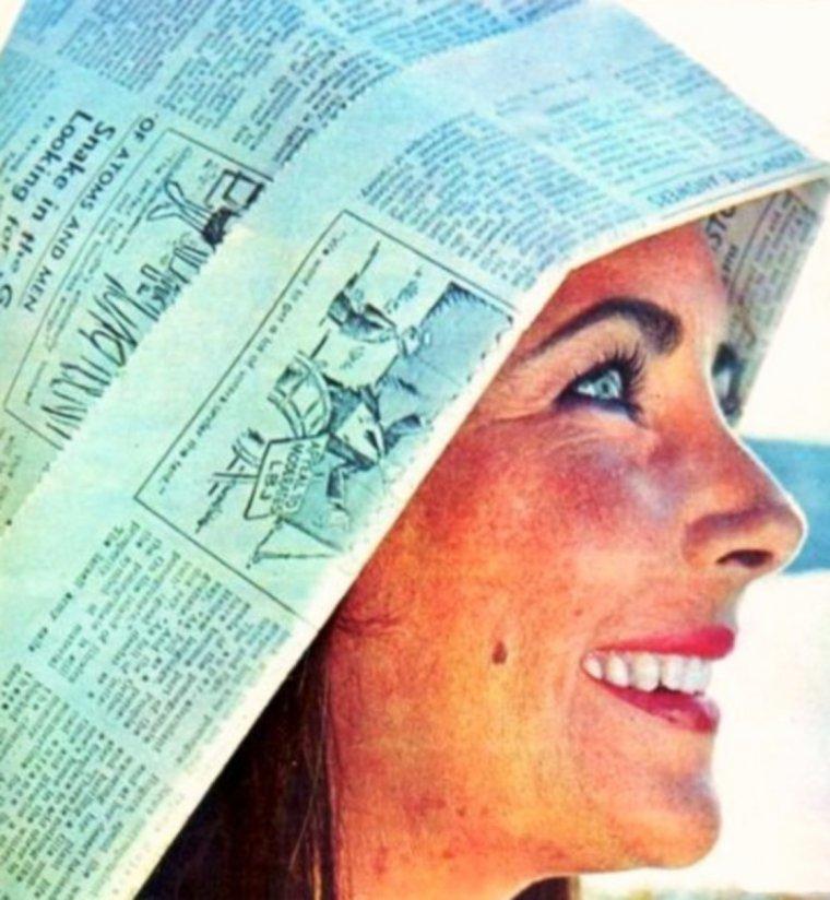 BELLE JOURNEE ENSOLEILLEE A TOUTES ET A TOUS !... Protégez-vous du soleil ! (Elizabeth TAYLOR)