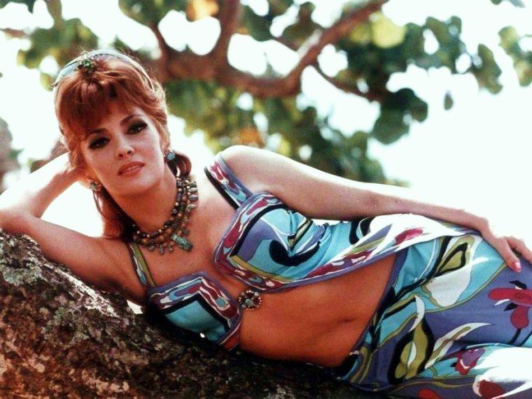 BONNE JOURNEE A TOUTES ET A TOUS !... with Gina LOLLOBRIGIDA wearing PUCCI (1968)