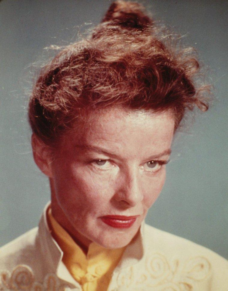Portrait... Katharine HEPBURN 50's