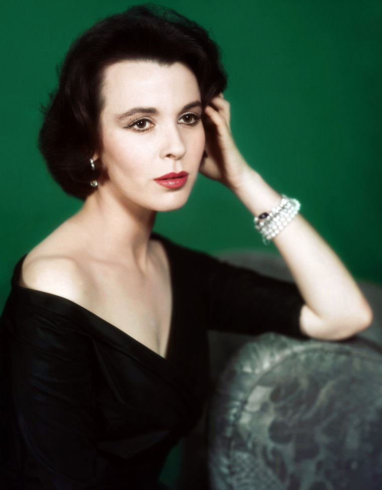 Portrait... Claire BLOOM 50's