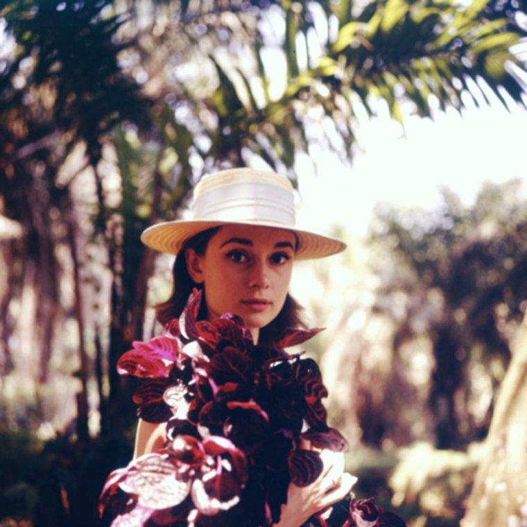 1958 / Par 33° annoncés, tout comme Audrey HEPBURN, aujourd'hui il vaut peut-être mieux rester à l'ombre !... BELLE JOURNEE ENSOLEILLEE A TOUTES ET A TOUS !... (photos by Leo FUCHS, part 2).