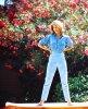 Mon arbuste préféré... Le laurier rose, ici avec Jane FONDA...