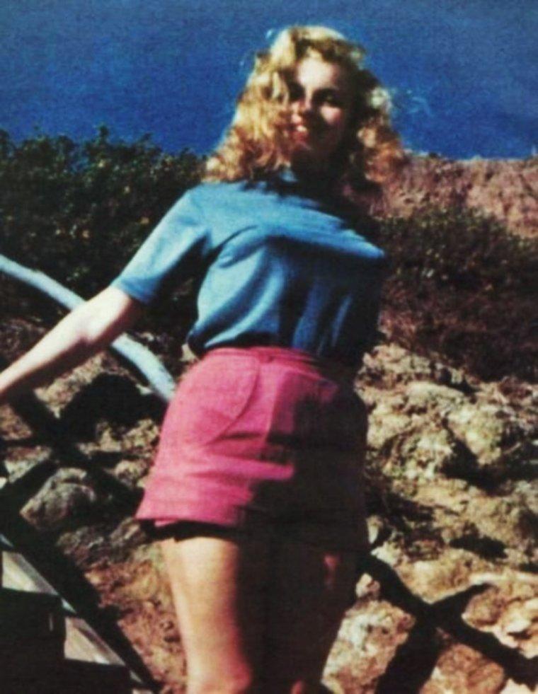 1948 / Un après-midi à la plage avec Marilyn sous l'objectif de Bill BURNSIDE...